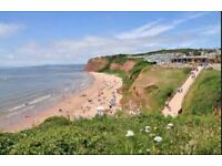 Caravan for hire at Devon Cliffs Exmouth