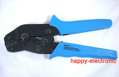 Awg26-16 Non-insulated Tabs Terminals Crimper Plier For Tab 2.8mm 4.8mm Terminal