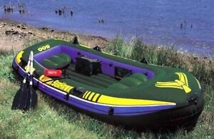 Seahawk 500 5 Person Inflatable Boat 530 lbs