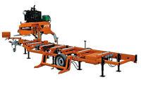 Sciage de planches avec moulin portatif