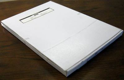 5mil Large Menu 12 X 18 Clear Laminating Pouches