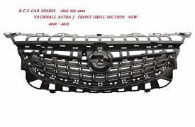 VAUXHALL ASTRA MK 6 TOP GRILL NEW 2010 NEW