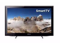 "22"" SONY BRAVIA LED SMART TV hd ready, freeview"