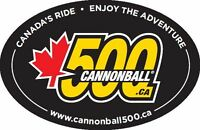 Cannonball 500 - Sept 20 - 2015 - Do You Have What It Takes?