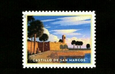 New 2021 Castillo de San Marcos US Priority Mail Single MNH Delivery After 2/1