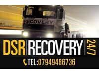 DSR Recovery West Midlands number 1 Recovery company