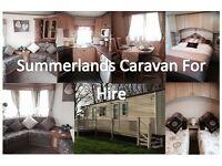 Caravan for hire, Ingoldmells near skegness