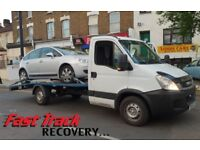 FAST TRACK RECOVERY 24/7 VAN CAR BREAKDOWN VEHICLE TRUCK TOW TOWING ASSISTANT TRANSPORTER SERVICES