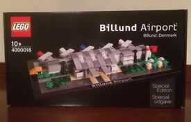 Lego limited edition billund airport - extremely rare set.