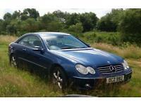 2002 Mercedes clk 200 1.8 compressor avant-garde px. Swap fancy change