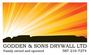 Experienced Drywall Taping, Finishing and Spray Texture Airdrie