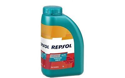 REPSOL RP ELITE COMPETICION Sintético SAE 5W40 Aceite de Motor 1L RP141L51