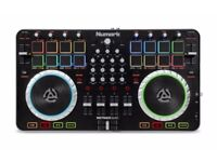 Numark Mixtrack Quad (Fully functional with all necessary wires)