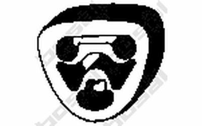BOSAL Anschlagpuffer, Schalldämpfer für MERCEDES-BENZ VITO C - KLASSE 255-080