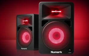 NUMARK N-WAVE 580L - BRAND NEW (PAIR) - MONITOR SPEAKERS