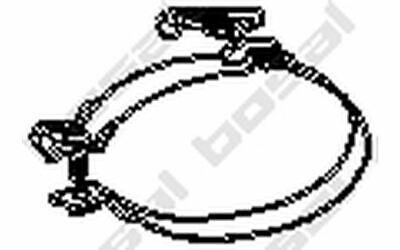 BOSAL Halter für Abgasanlage für OPEL COMBO 251-916 - Mister Auto Autoteile