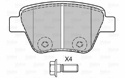 4x VALEO Bremsbeläge hinten für VOLKSWAGEN JETTA EOS SKODA YETI AUDI A1 601137