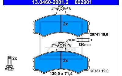 4x ATE Bremsbeläge vorne für PEUGEOT J5 CITROEN C25 FIAT DUCATO 13.0460-2901.2