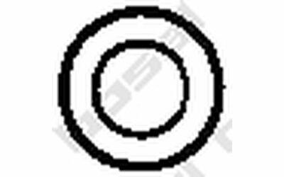BOSAL Halter für Abgasanlage 258-108 - Mister Auto Autoteile