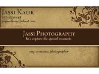 Jassi Photography - Any small occasions photographer Birthdays, weddings, engagement and many more