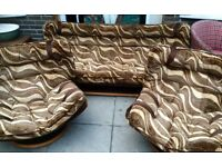 Vintage 60s 70s sofa and chairs