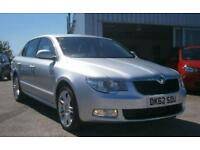 2012 12 SKODA SUPERB 1.6 ELEGANCE GREENLINE II TDI CR 5D 105 BHP **£30 TAX***