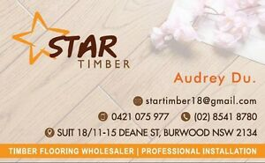 timber flooring wholesaler!! professional installation!! Burwood Burwood Area Preview