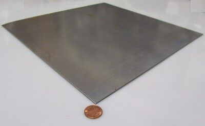 4130 Steel Sheet .071 Thick X 12.0 Wide X 12 Length Cold Rolled