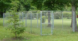 Dog Kennel - one 10'x30'x6' kennel or two 10'x10'x6' kennels