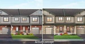 Freehold Townhomes Sale near Grimsby. VIP Price from mid $400s
