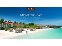 URGENT SALE! Direct Return Flight from London Gatwick to Jamaica Montego Bay- 2 weeks December 2016