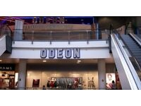 Any Odeon cinema cheaper 2D film tickets with standard seats