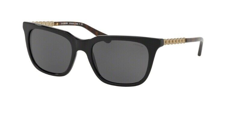 LENSES ONLY!! Lenses For Coach HC8236 Solid Gray Tint