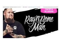 2 x Rag'n'Bone Man Edinburgh Hogmanay Tickets