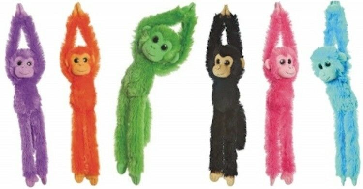 Aurora Plush Toy Hanging Monkey Collection