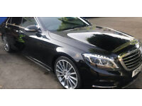 Scott's Southend Chauffeur Essex Airport Transfers S Class Mercedes car