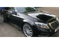 Scott's Business Travel Taxi Chauffeur S Class Mercedes car