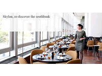 Demi Chef - Skylon Restaurant - £9 per hour - Overtime paid- Waterloo