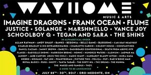 Wayhome Music Festival Tickets July28-30th 2017(GA 4 Day Passes)