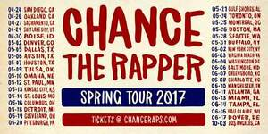 Chance the Rapper - May 24th at the Budweiser Stage