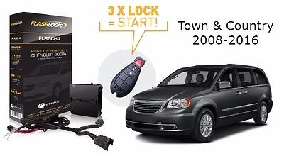 Flashlogic Add-On Remote Start for CHRYSLER TOWN & COUNTRY 2014 Plug and Play