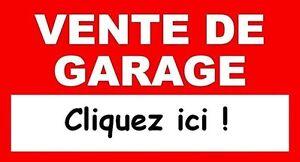 Vente de garage VIRTUELLE (en tout temps)