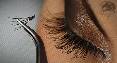 300 Knot Free Loose 10 in 1 Natural Flares Cluster Lashes Eyelash Extension -