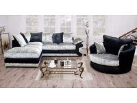 Stunning SCS velvet sofa range