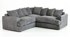 *BRAND NEW* LIVERPOOL CORD CORNER SOFA *DIFFERENT COLOURS AVAILABLE*
