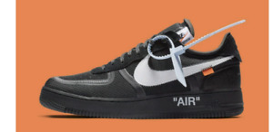Off whit x Nike Air Force 1 black