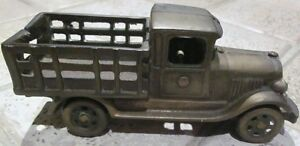 "Antique Cast Iron Toy Truck – Stamped ""Made in Canada"" Cambridge Kitchener Area image 1"