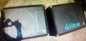 YORKVILLE ELITE MAXIM 401 MONITORS$400.00