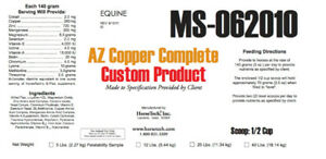 AZ Copper Complete Hoof Supplement