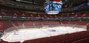 Lower Bowl - Vancouver Canucks vs Coyotes
